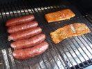 Smoked Salmon and Brats