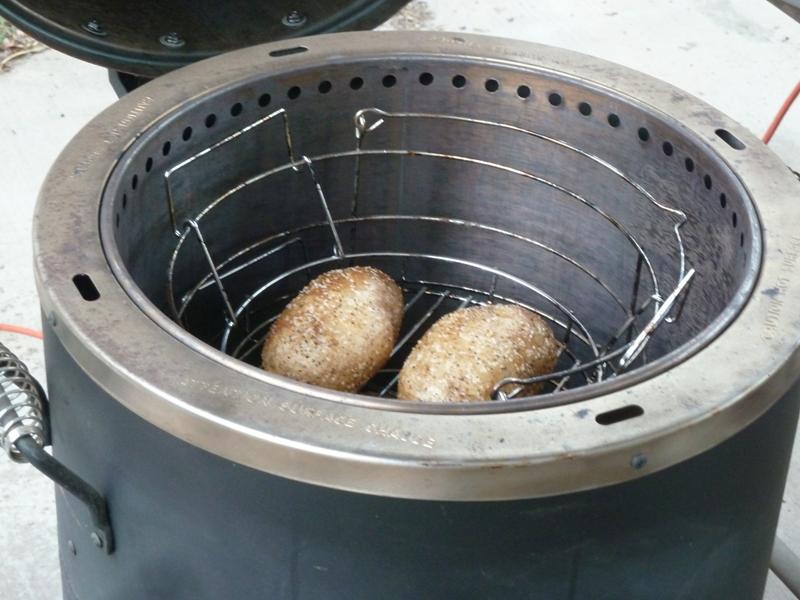 Idaho baked potatoes