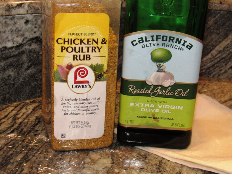 EVOO and Poultry Rub