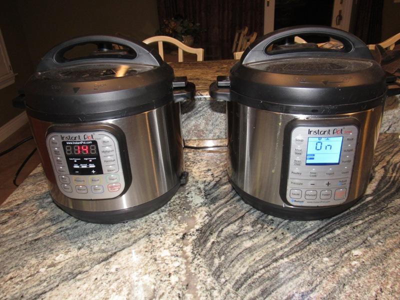 Dueling Instant Pots