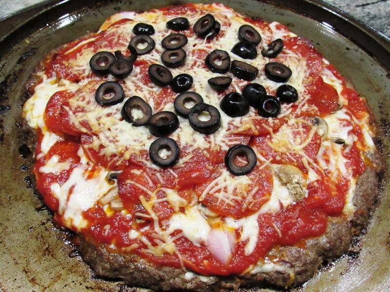 Baked Meatza Pie