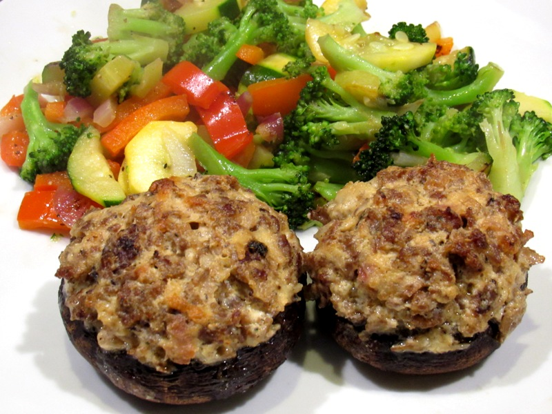 Why not Stuffed Mushrooms as an Entrée
