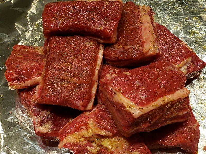 Seasoned Beef Short Ribs