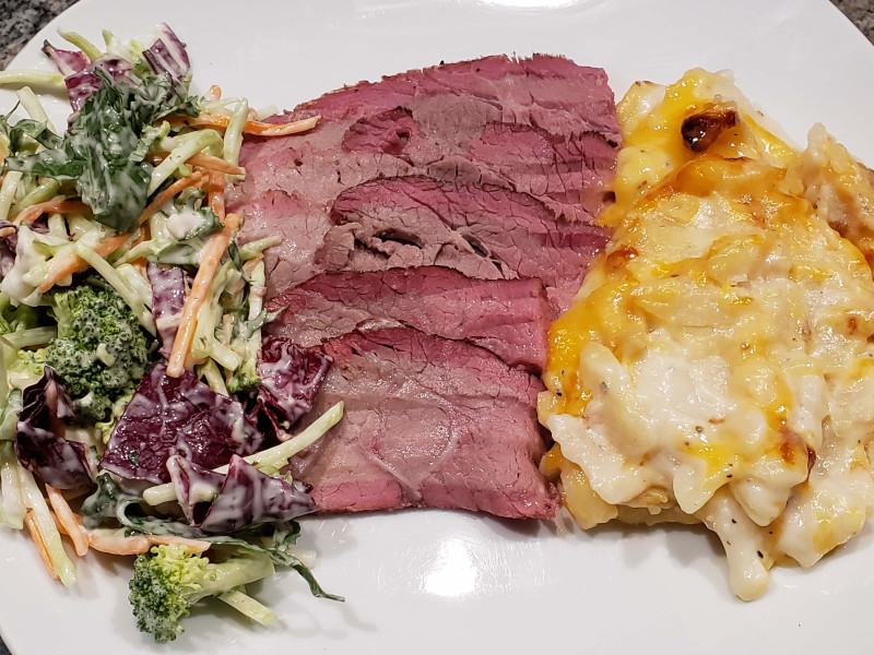 Smoked Tri Tip with Sides